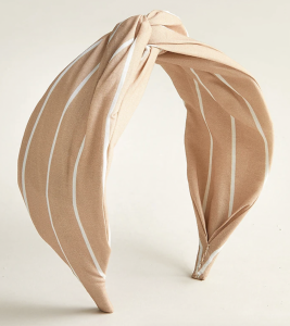 Printed Twist Headband in Cotton