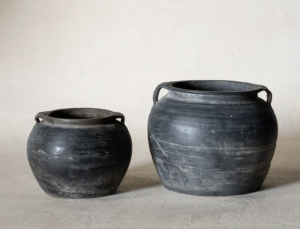 Vintage Handled Pot