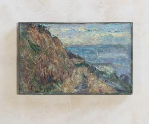 Found Sea Cliffs Painting