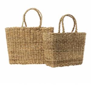 Seagrass Handled Basket