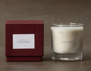 Cedar + Berry Candle