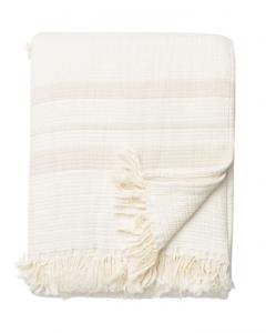 Latham Cream Cotton Coverlet