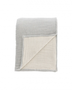Hanson Striped Cotton Coverlet