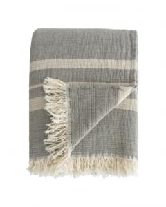 Latham Gray Cotton Coverlet