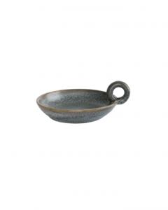 Glazed Stoneware Dish