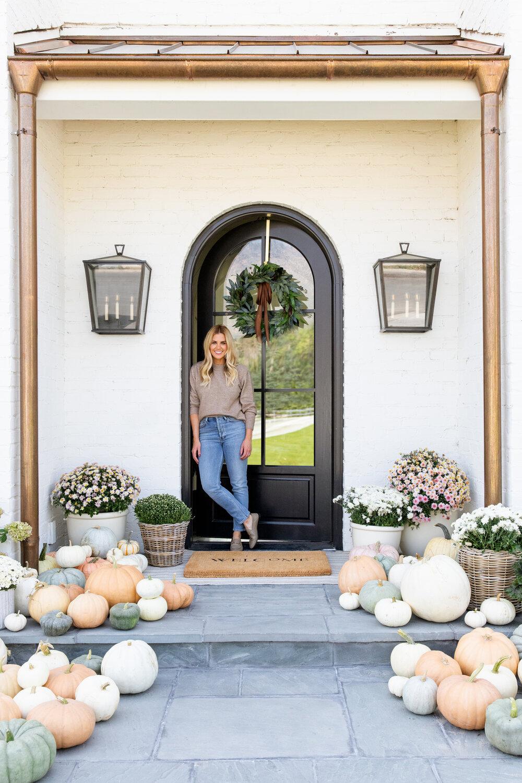 The McGee's Fall Front Door Look