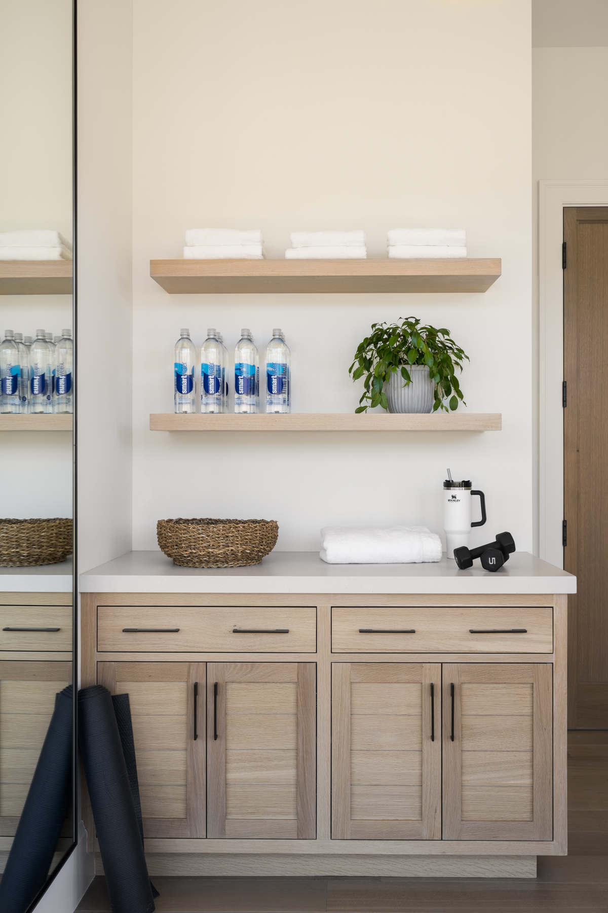 Mountainside Retreat: The Office, Mudroom, & Powder Room
