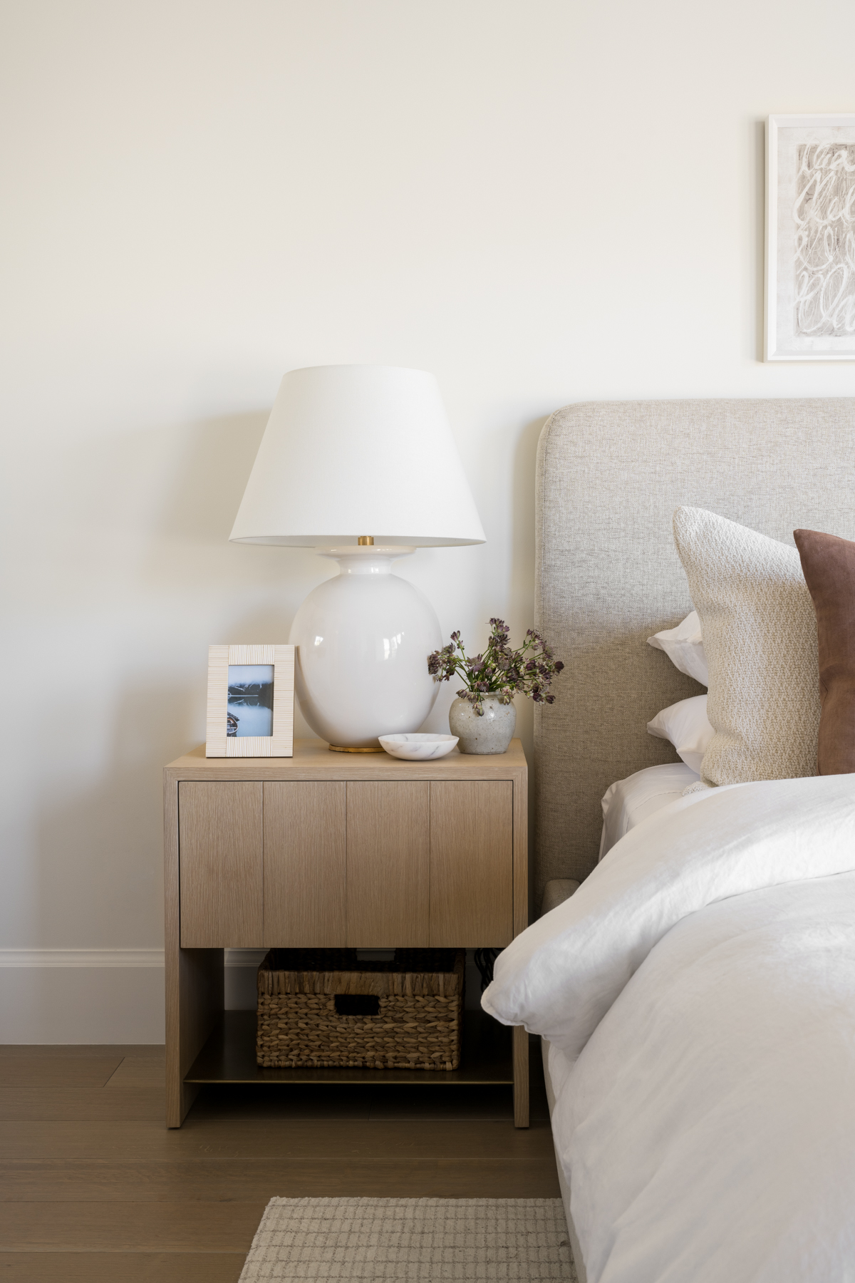 Mountainside Retreat: The Upstairs Guest Bed + Bath
