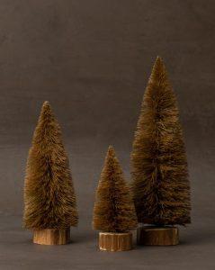Bottle Brush Trees (Set of 3)