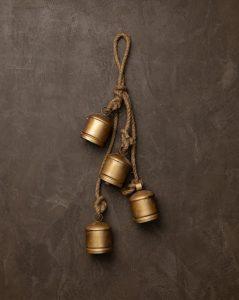 Hanging Iron Bells