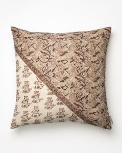 Leann Block Print Pillow Cover