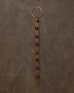 Leather Bell Hanger