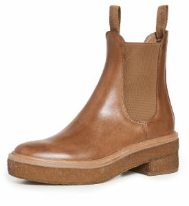 Crepe Sole Chelsea Boots