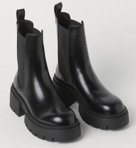 Platform Chelsea-Style Boots