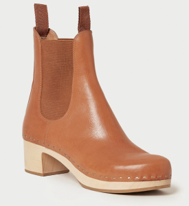 Anabelle Cognac Clog Boot