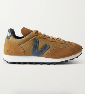 Rio Branco Leather-Trimmed Ripstop and Suede Sneakers
