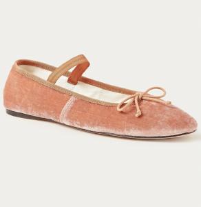 Leonie Coral Ballet Flat