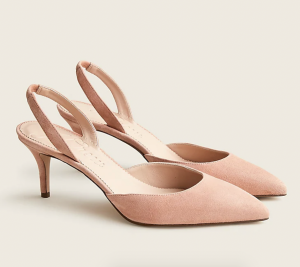 Colette Slingback Pumps in Suede