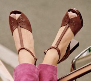 Simone High Sandals