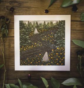 8x8in Fine Art Print