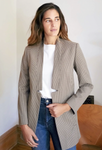 The Coup Blazer in Check Please