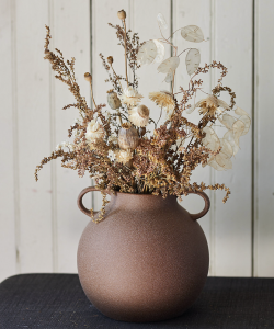 Ashn Earth Textured Neutrals Dried Bouquet