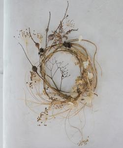 Ashn Earth Textured Neutrals Wreath
