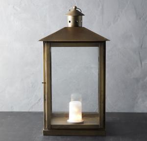 Landmark Galvanized Lantern