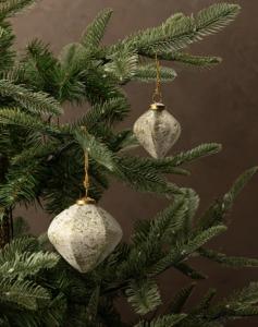 Distressed Duotone Ornament