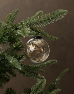 Painted Foliage Ornament