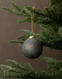 Glass & Iron Ornament