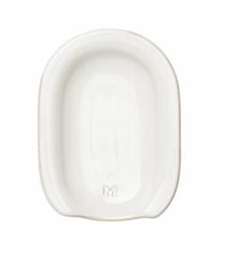 Glazed Stoneware Spoon Rest