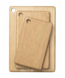 Rectangle Oak Wood Bread Board