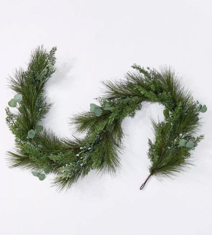 Pine and Eucalytus Garland