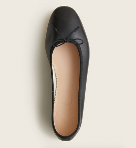 Zoe Ballet Flats in Leather
