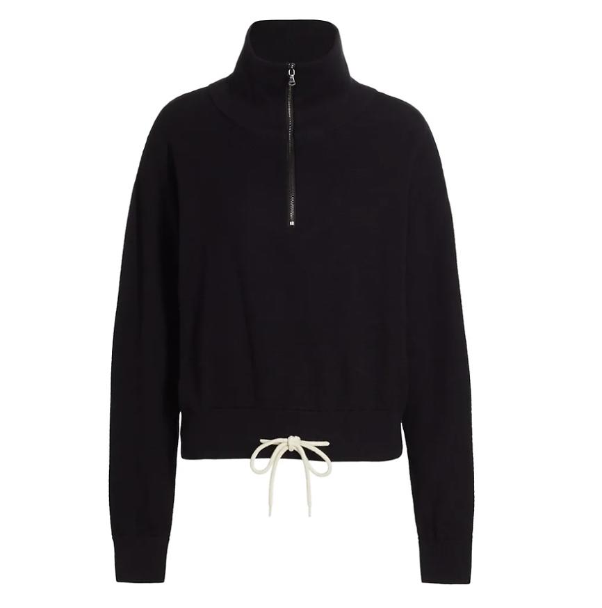 Buckingham Half-Zip Sweatshirt