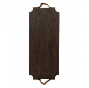Leather Handled Bread Board