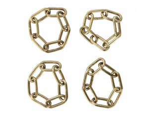Chain Link Napkin Ring (Set of 4)