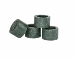 Green Marble Napkin Rings (Set of 4)