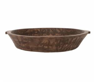 Bordeaux Wooden Bowl