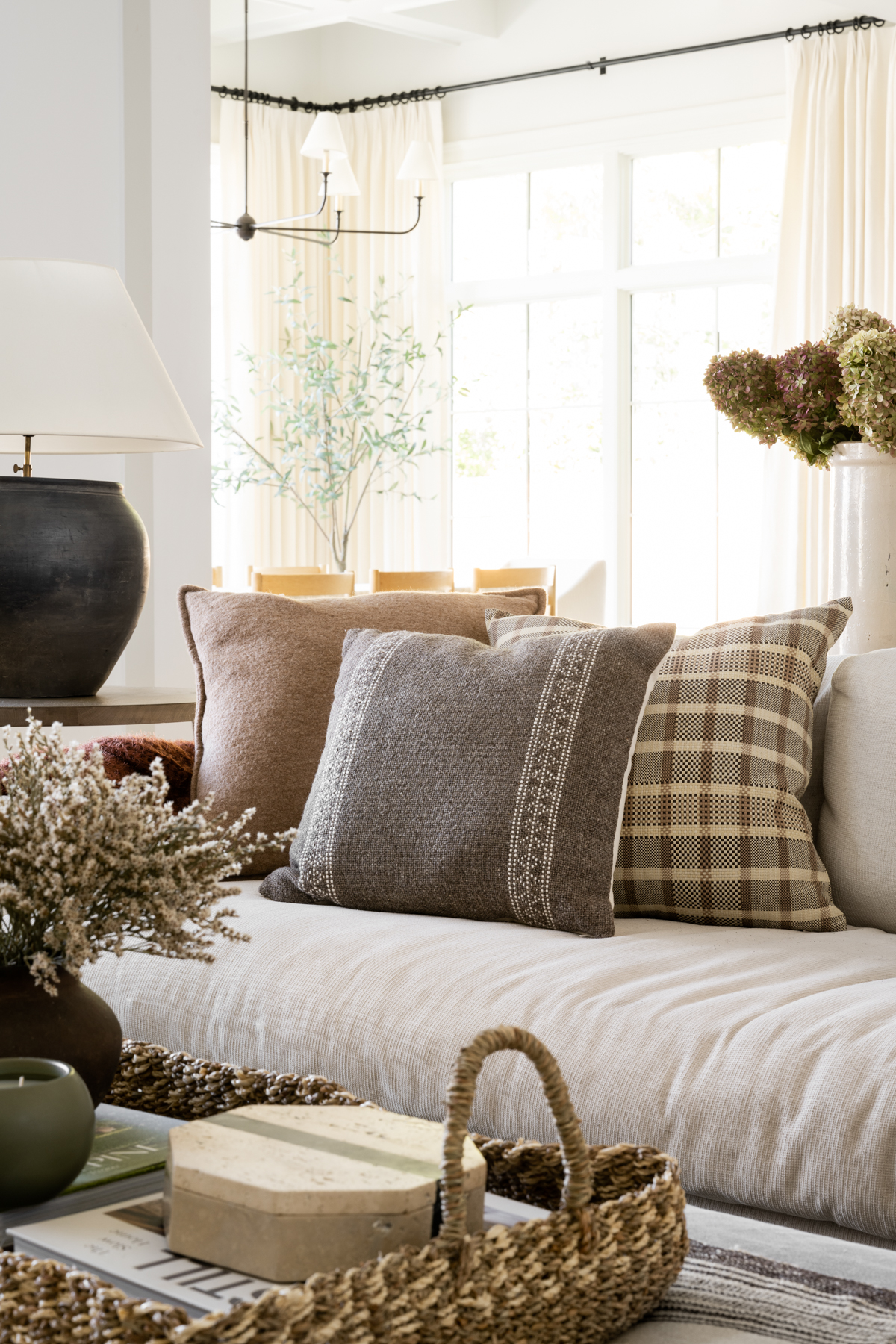 The McGee's Great Room Textile Refresh